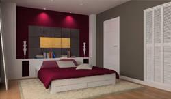 Dormitorio diseñado con Serastone