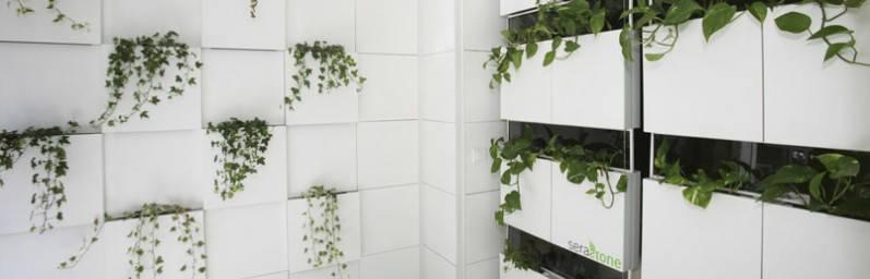Jard n vertical serastone serastone revestimientos de for Jardin vertical oficina